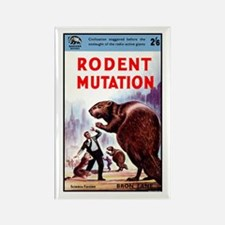 Rodent Mutation Rectangle Magnet