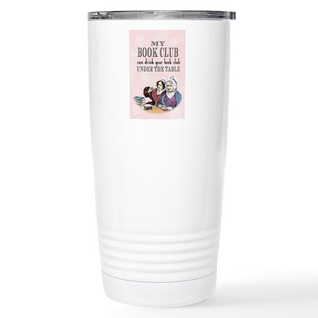Book Club Stainless Steel Travel Mug