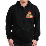 Starfleet Academy Zip Hoodie (dark)