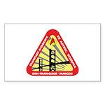 Starfleet Academy Sticker (Rectangle 50 pk)