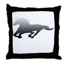 Funny Ford mustang Throw Pillow
