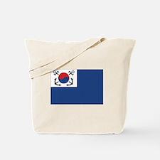 South Korea Naval Jack Tote Bag