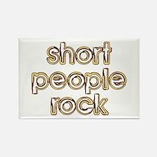 Short People Rock Rectangle Magnet
