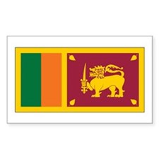 Sri Lanka Flag Decal