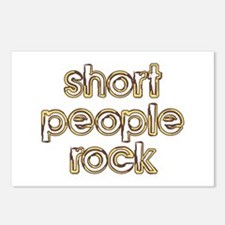 Short People Rock Postcards (Package of 8)