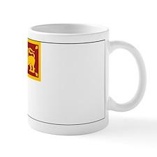 Sri Lanka Naval Ensign Mug