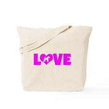 LOVE KERRY BLUE Tote Bag