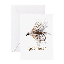 got flies? Greeting Card