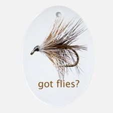 got flies? Ornament (Oval)
