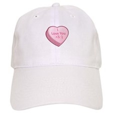 I Love You <3 :) Baseball Cap