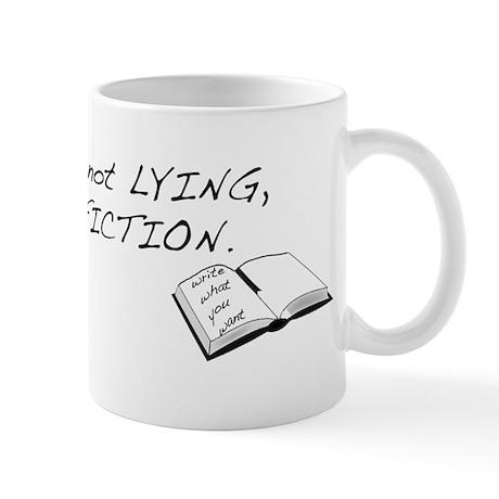 It's Fiction, Not Lying Mug