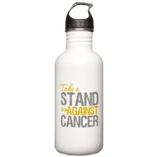 Take a Stand Appendix Cancer Water Bottle