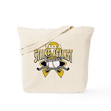 Take Strike Appendix Cancer Tote Bag