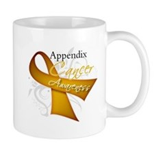 Awareness Appendix Cancer Mug