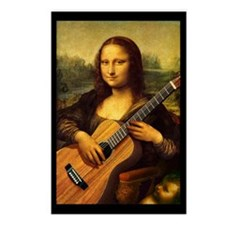 Mona Guitar Postcards (Package of 8)