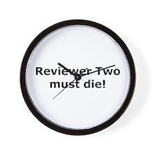 Reviewer Two must die! Wall Clock