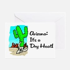 Dry Heat Greeting Card