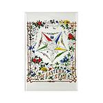 Vintage Eastern Star Signet Rectangle Magnet (10 p