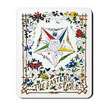 Vintage Eastern Star Signet Mousepad