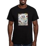 Vintage Eastern Star Signet Men's Fitted T-Shirt (