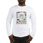 Vintage Eastern Star Signet Long Sleeve T-Shirt