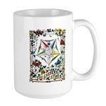 Vintage Eastern Star Signet Large Mug