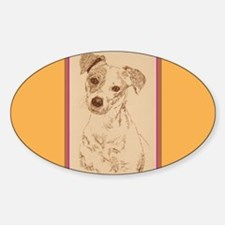 Jack Russell Terrier Smooth Decal