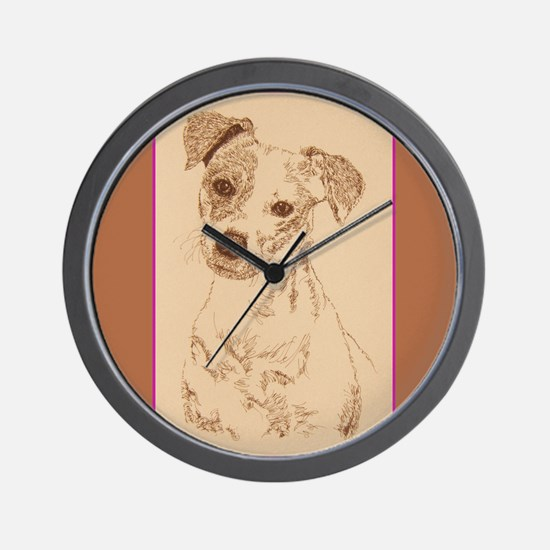 Jack Russell Terrier Smooth Wall Clock