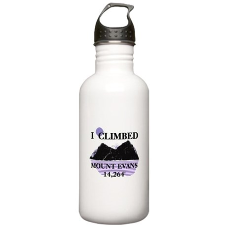 I Climbed MOUNT EVANS 14,264' Stainless Water Bott