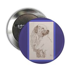 """Great Pyrenees 2.25"""" Button (10 pack)"""