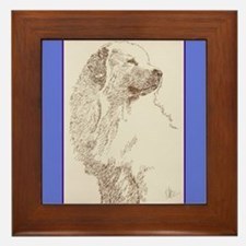 Great Pyrenees Framed Tile