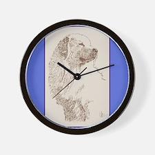 Great Pyrenees Wall Clock