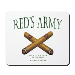 Red's Army Mousepad