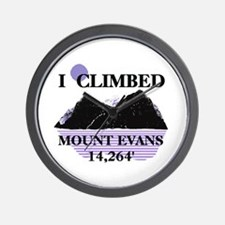 I Climbed MOUNT EVANS 14,264' Wall Clock
