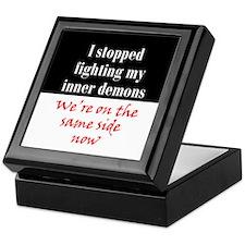 Fighting Inner Demons Keepsake Box