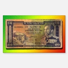 Ras Tafari Money Decal