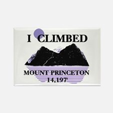 I Climbed MOUNT Princeton 14, Rectangle Magnet