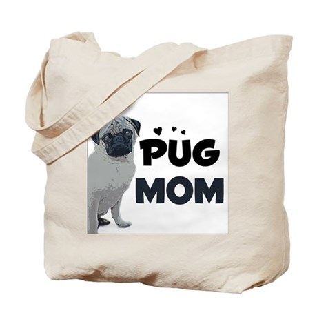 PUG Mom design Tote Bag