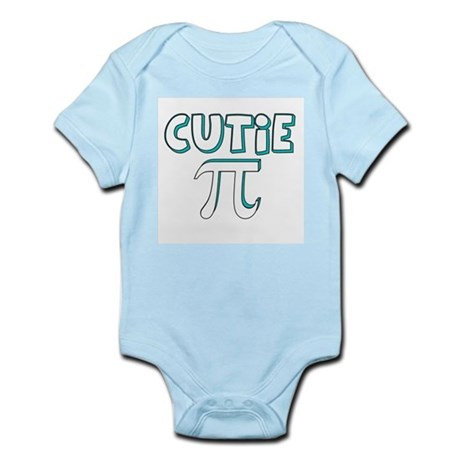 Cutie Pi Blue Infant Creeper