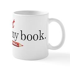 """It's not my book"" CE-Lery Mug"