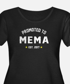 Promoted to Mema 2017 Plus Size T-Shirt