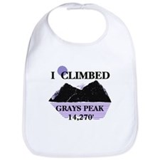 I Climbed GRAYS PEAK 14,270' Bib