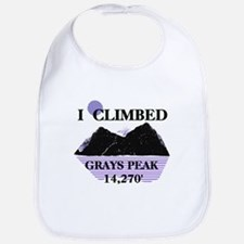 I Climbed GRAYS PEAK 14,270' Bib