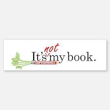 """It's not my book"" CE-Lery sticker"