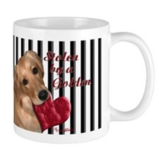 Golden Stolen Heart Mug