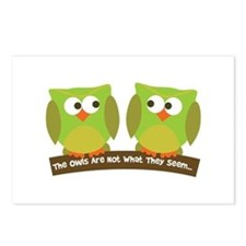 The owls are not what they seem Postcards (Package
