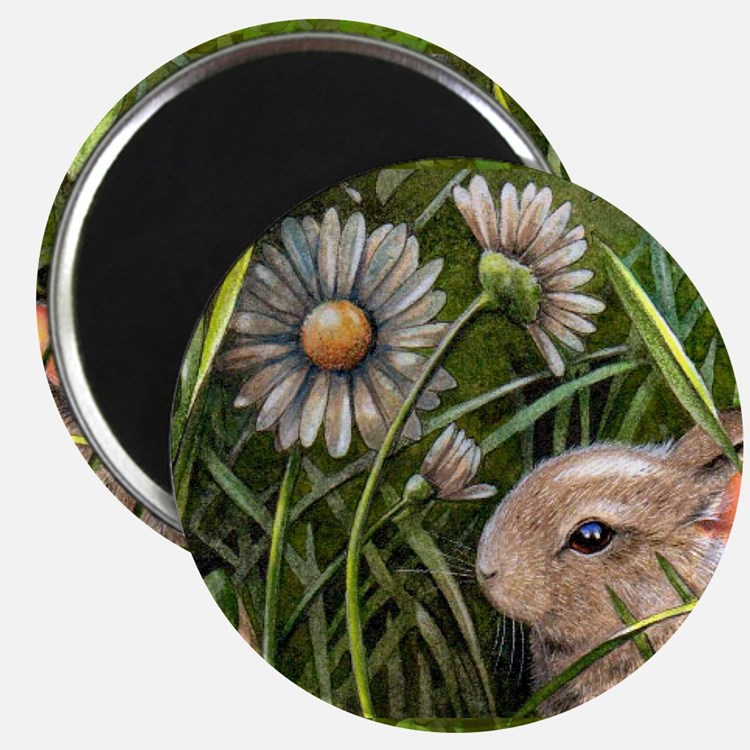 Cottontail Bunny Rabbit Magnet