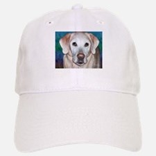 Yellow Lab Baseball Baseball Cap