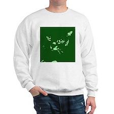Pop Art Gray Cat Sweatshirt