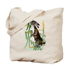 The Year Of The Rabbit Tote Bag
